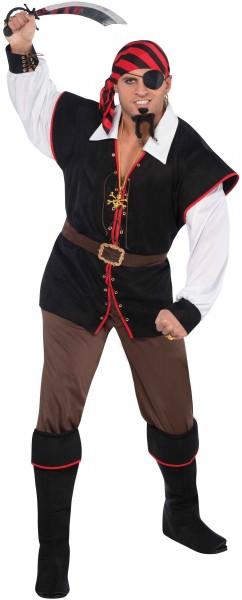 Costume da uomo famigerato pirata Miguel