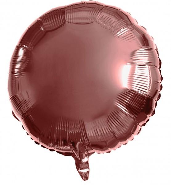 Runder Folienballon bronze 45cm