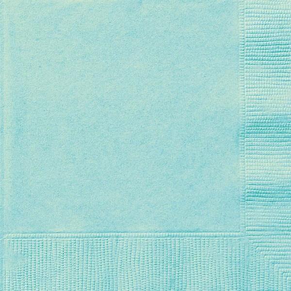 20 servilletas Vera menta 33cm