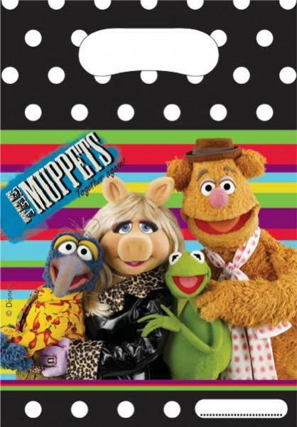 6 Muppets Kermit And Friends Geschenktüte 16,5x23cm