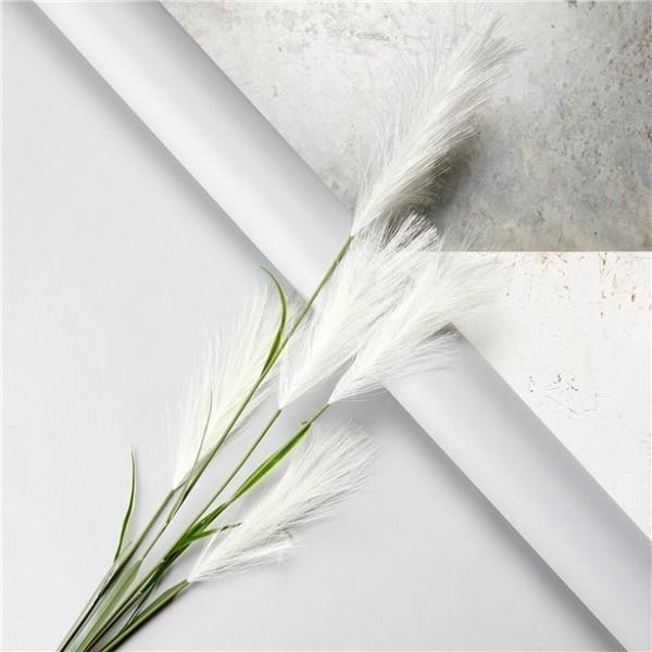 Pampus-Trespe Blumendeko weiß 1,45m