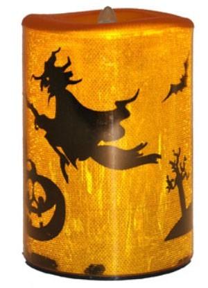 Bougie d'Halloween LED