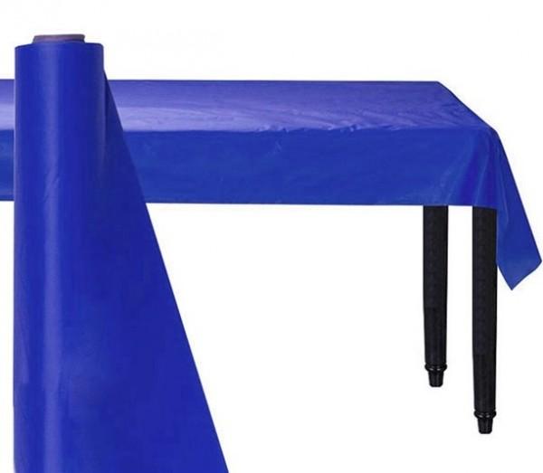 Royalblaue Kunststoff Bankett-Tischrolle 76cm