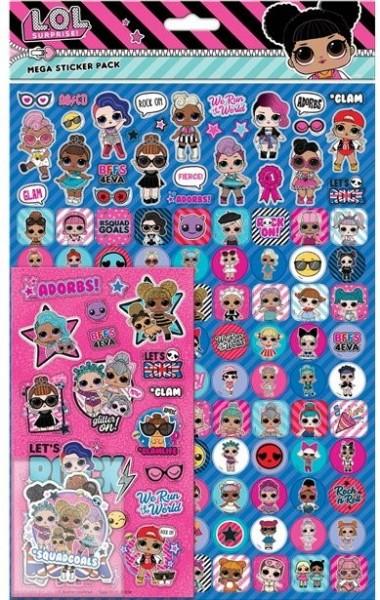 LOL Clique XXL Sticker Set