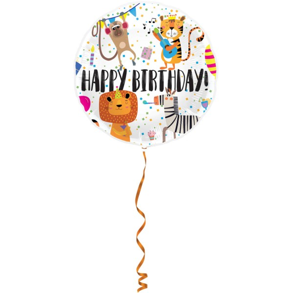 Festdyr fødselsdag ballon 45cm