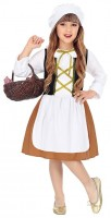 Süßes Magd Kostüm für Mädchen Classic