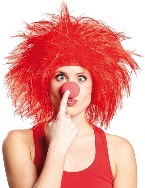 Perruque hirsute rouge