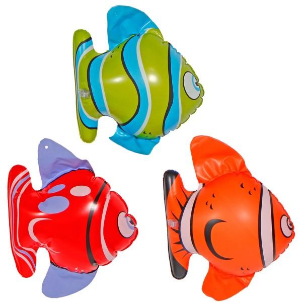 3 Aufblasbare Korallenriff Fische