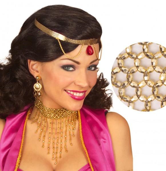 Goldenes Perlen Collier