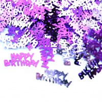 Happy Birthday Streudeko Metallic Pink 14g