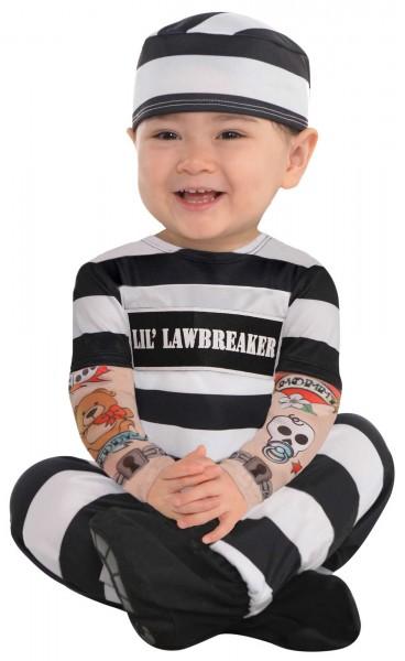 Rebellischer Babyverbrecher Kostüm