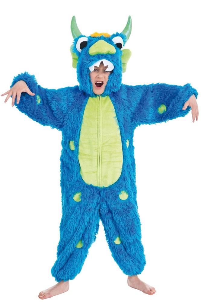Monster Kostuem Fuer Jungen.Spooky Monster Spike Kinderkostum Party De