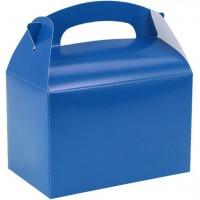 Geschenkbox rechteckig blau 15cm
