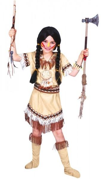 Indianer Squaw Kitana Kinderkostüm