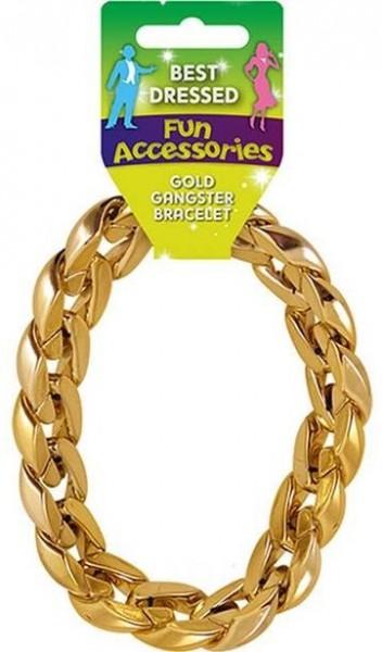 Gold 80s bracelet