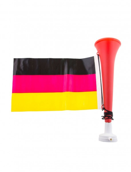 Germany fan horn with flag
