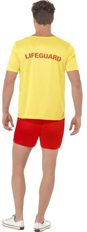 Boa Giacca Pantaloni Baywatch Costume Uomo In M U L Pantaloncini tuta bagnini