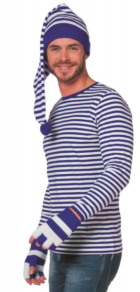 Pullover Ringel Blu