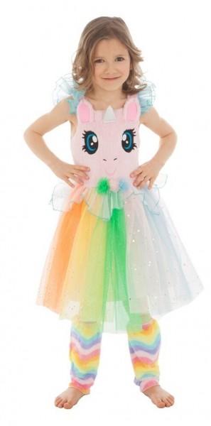 Einhorn Kostüm Rainbow für Mädchen
