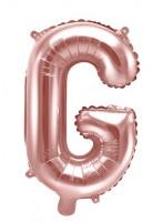 Folienballon G roségold 35cm