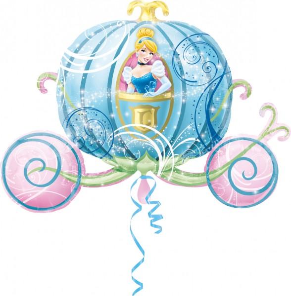 Folienballon Cinderellas magische Kutsche