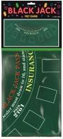 Black Jack Spielfeld Tischdecke Casino Royal 94x182cm