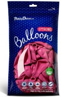 50 Partystar Luftballons pink 27cm