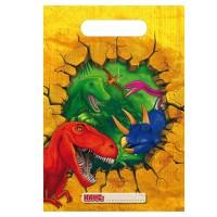 6 Dino Abenteuer Geschenktüten