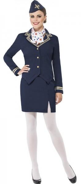 Stina Stewardess Damenkostüm