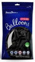 100 Partystar Luftballons schwarz 27cm