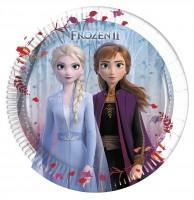 8 Frozen 2 Pappteller 20cm