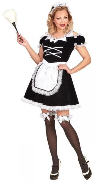 Deluxe Zimmermädchen Kostüm Magda