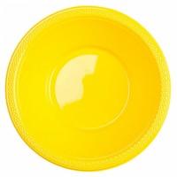 10 Party Buffet Schüsseln Sonnengelb 355ml