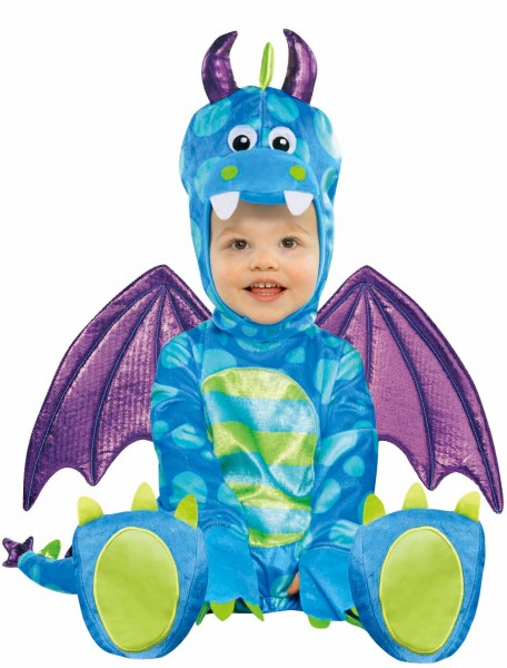 Little Dragon Diego Baby Jumpsuit