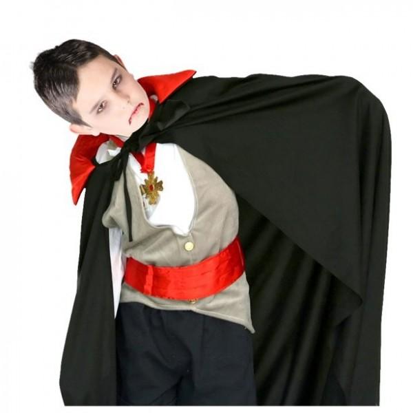 Vampire cape Abronsius for children 90cm
