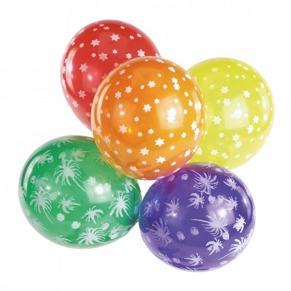 Ballons feu d'artifice 6 étoiles 23cm