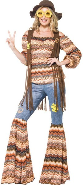 Hannah Hippie Damenkostüm 1