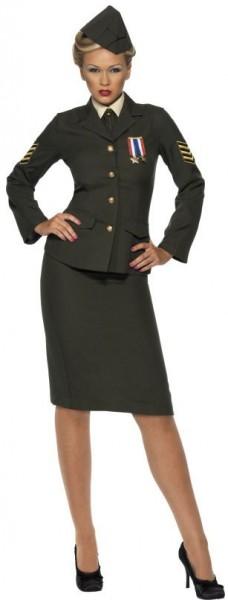 Militärisches Offiziers Kostüm Für Damen