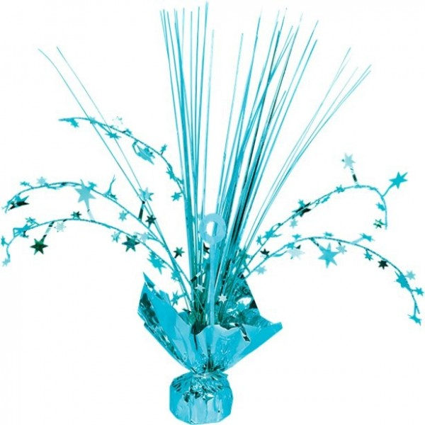 Turquoise star table fountain 30cm