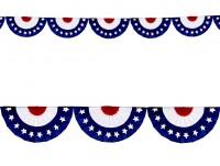 USA Party Girlande 275cm