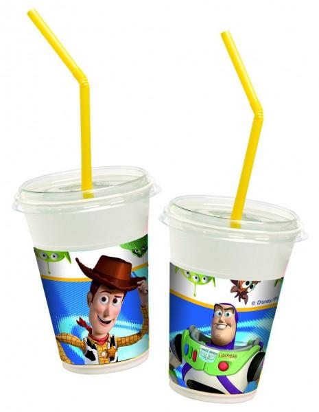 Toy Story Milkshake Pappbecher 12er Set