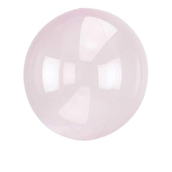 Light pink ball balloon 40cm
