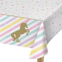 Golden Unicorn Tischdecke 2,6 x 1,3m