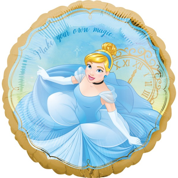 Cinderella Folienballon Magic Making 45cm