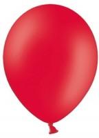 50 Partystar Luftballons rot 30cm