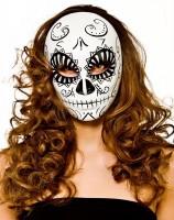 Tag Der Toten Maske Schwarz-Weiß