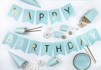 Vorschau: 6 Cheerful Birthday Snack Boxen minttürkis