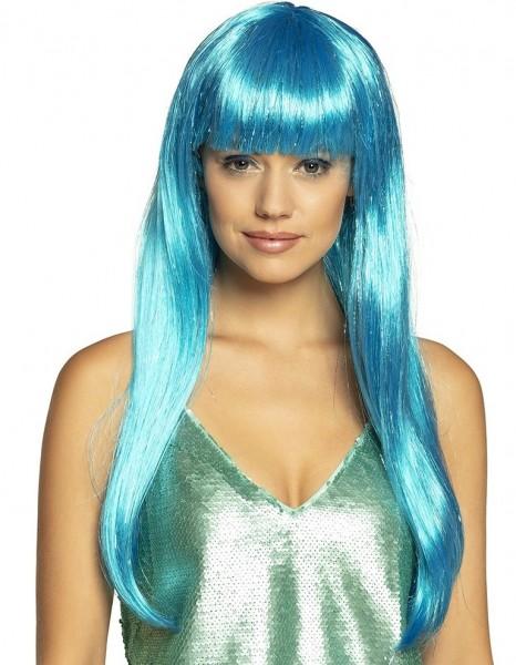 Blaue Meerjungfrau Perücke Lorelei