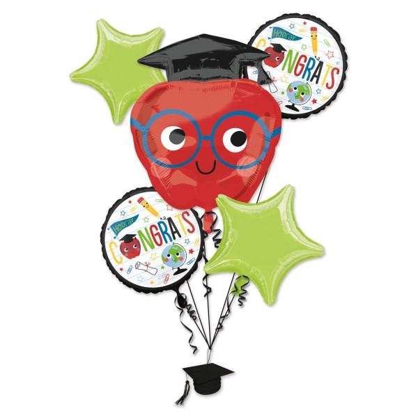 Glückwunsch Klugscheißer Ballon Bouquet