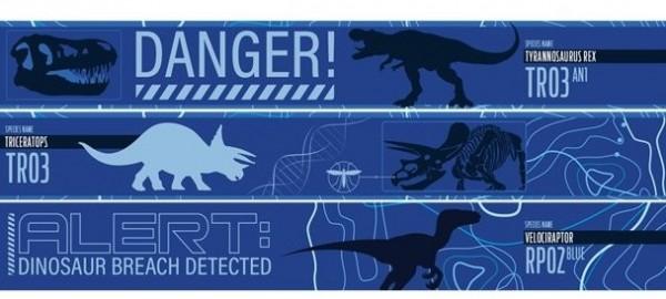 3 Jurassic World Party Banner 1m